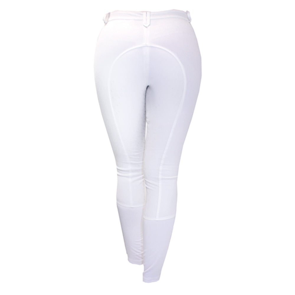 AA Summer Silicon Breeches White - The Polished Rider