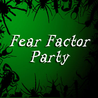 How to Throw a Fear Factor Party