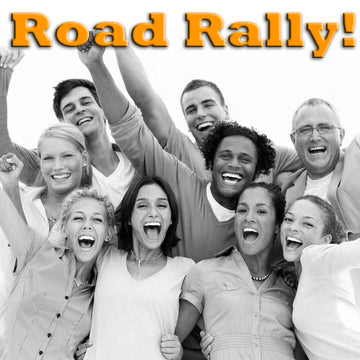Over The Hill Party Idea - A Road Rally