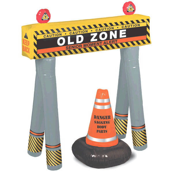 Old Zone Barricade