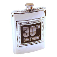 Thirtieth Birthday Flask