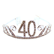 40th Birthday Gem Tiara