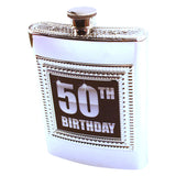 50th Bday Booze Flask