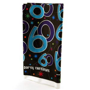 60th Birthday Prism Table Cover