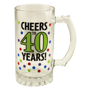 40th Birthday Tankard