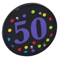Light Up 50 Button