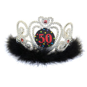 50th Birthday Light Up Tiara