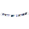 Colorful 50th Birthday Letter Banner