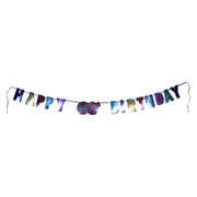 Colorful 60th Birthday Letter Banner