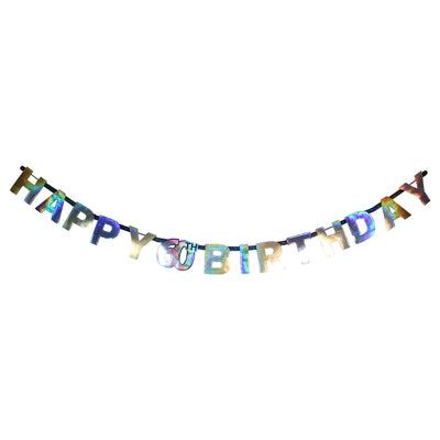Sparkling 60th Birthday Letter Banner