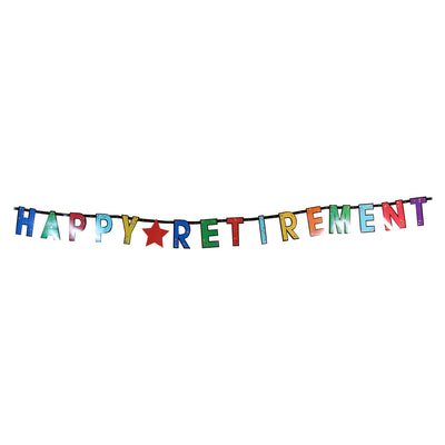 Retirement Letter Banner Set