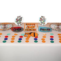 Colorful 50th Room Decoration Kit