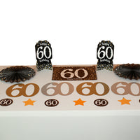 Sparkling 60th Room Decoration Kit