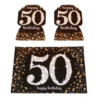 Sparkling 50th Room Decoration Kit