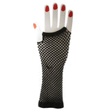 Black Fishnet Gloves on Hand