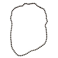 Mardi Gras Beads Black Necklace