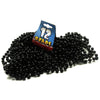 Twelve Strands of Black Beads