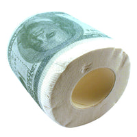 Roll of Money Toilet Paper