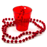 Red Shot Glass Necklace