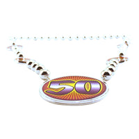 50 Birthday Bead String