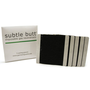Subtle Butt - Stops the Smell of Farts