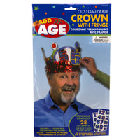 Stick-On Age Custom Crown