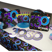 The Party Continues Decorating Kit - 30th