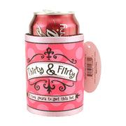 Thirty and Flirty Beer Coozy