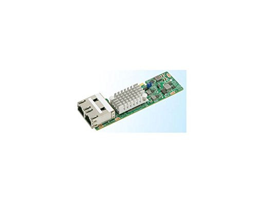 Supermicro AOC-CTGS-I2T compact Dual-Port 10GbE adapter with 10GBase-T