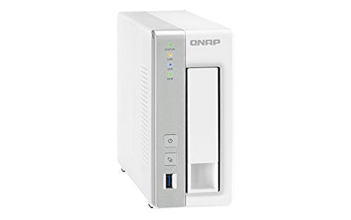 QNAP TS-131 1-bay Personal Cloud NAS with DLNA, mobile apps and AirPlay support (TS-131)