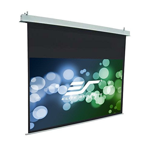Elite Screens Evanesce, 110-inch 2.35:1, Recessed In-Ceiling Electric Projection Projector Screen, IHOME110C-E24