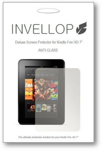 INVELLOP ANTI-GLARE 3-pack Screen protectors for Kindle Fire HD 7-Inch
