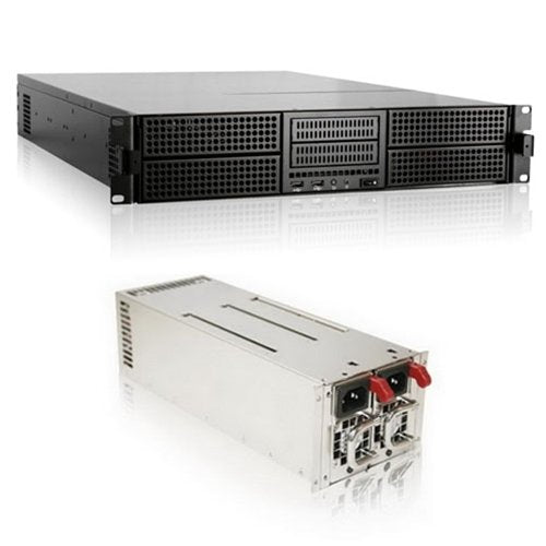 iStarUSA E204L-24R-46R2U 2U Rackmount Chassis With BPN-DE230SS