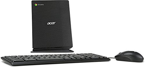 Acer Chromebox CXI-i34GKM Desktop with Keyboard and Mouse