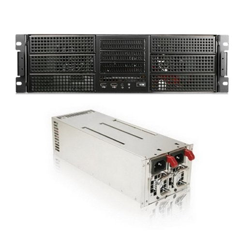 iStarUSA E306L-24R-46R2U 3U Rack Mount Server with IS-460R2UP