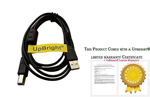 UpBright NEW USB Data / Sync Cable Cord PC Laptop Lead For Numark NVII Intelligent Dual-Display Serato DJ Controller 4-Channel