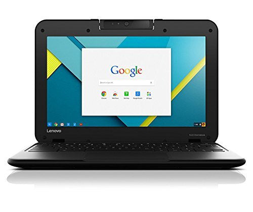 "2017 Newest Lenovo Premium 11.6"" IPS Touchscreen Chromebook, Intel Dual-Core N3060 up to 2.48 GHz, 16 GB SSD, 4 GB Memory, 802.11ac, Bluetooth, Water-Resistant Keyboard, Rotatable Camera, Chrome OS"