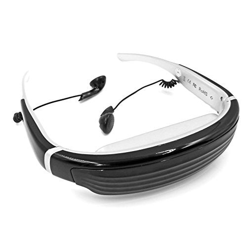 Safodo K6S 3D Video Glasses, 68 inch 648480 Video Goggles with AV-in Fuction,1080P supported Side By Side 3D Head Mounted Display