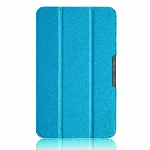 Fintie ASUS VivoTab Note 8 Slim Shell Case - Ultra Slim Lightweight Stand Cover for ASUS Vivo Tab Note 8 M80TA Windows 8.1 Tablet, Blue