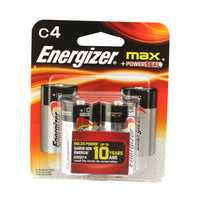 Energizer C Batteries - 4 Pack