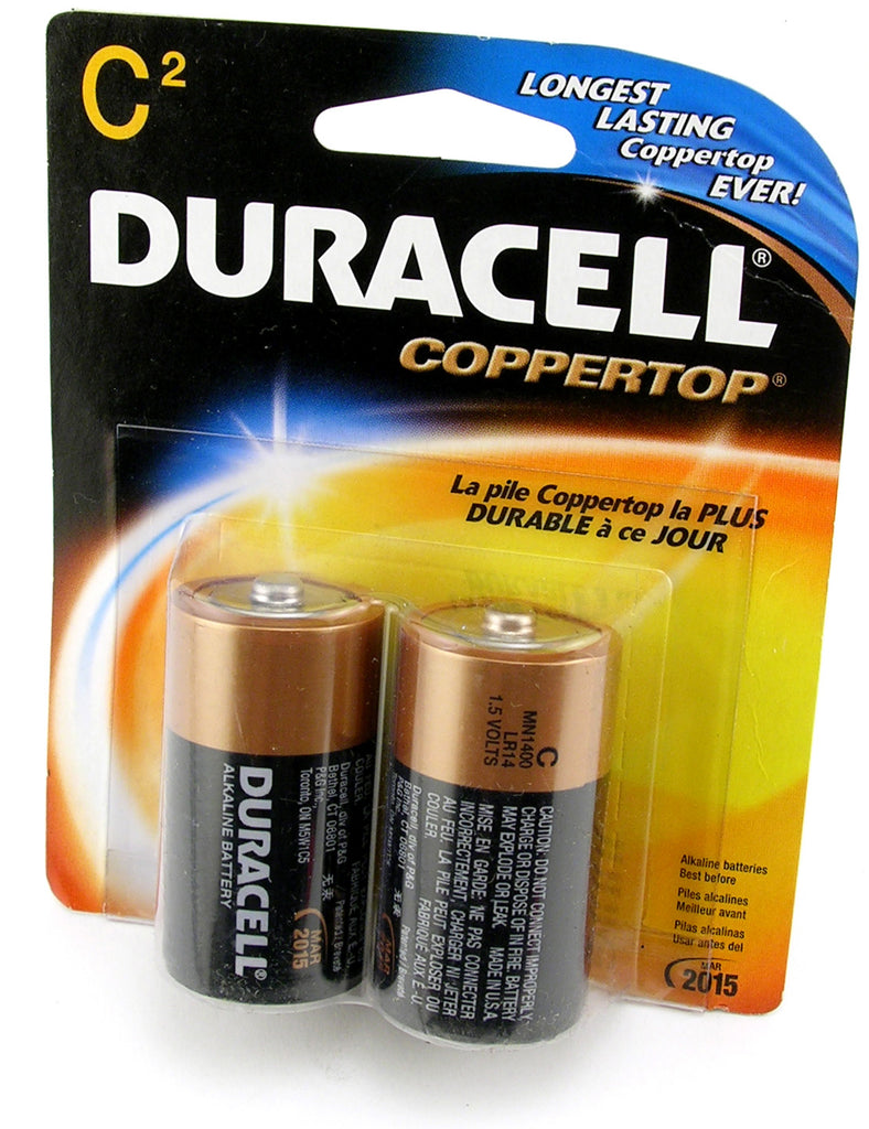 C-Cell Batteries - 2 Pack