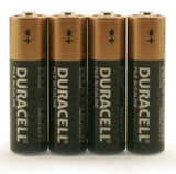 Duracell AA Batteries - Four Batteries per Package