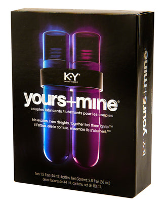 K-Y Yours And Mine Couples' Lubricant Set