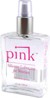 Pink Silicone Lubricant for Women - 120 mL