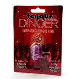 Tongue Dinger Vibrating Tongue Ring Front of Package