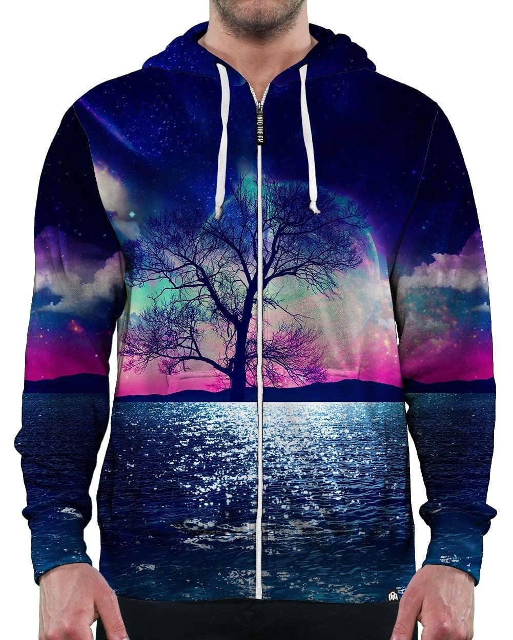 A World Away Zip-Up Hoodie
