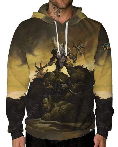 Aftermath Pullover Hoodie-Male-Front