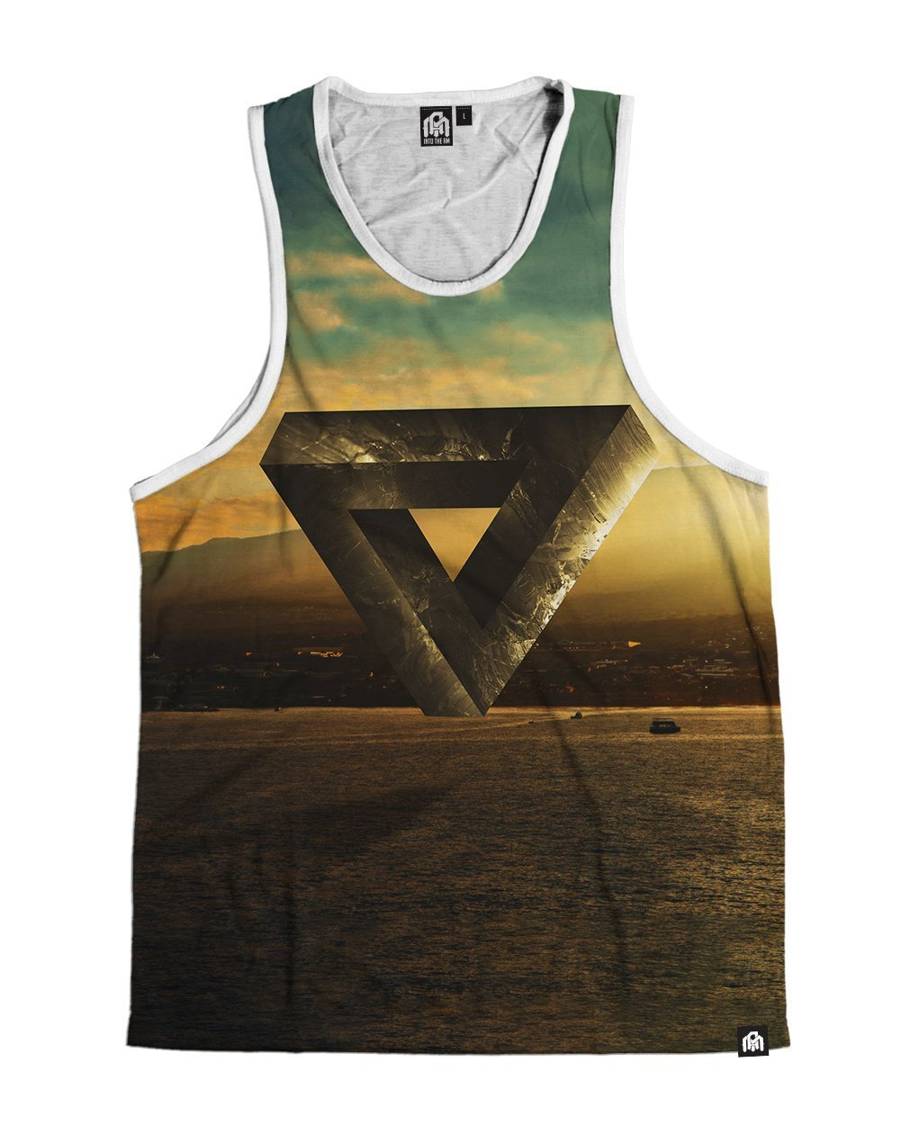 Altered Reality Men's Tank Top-Front