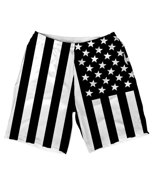 American Street Men's Athletic Shorts-Front