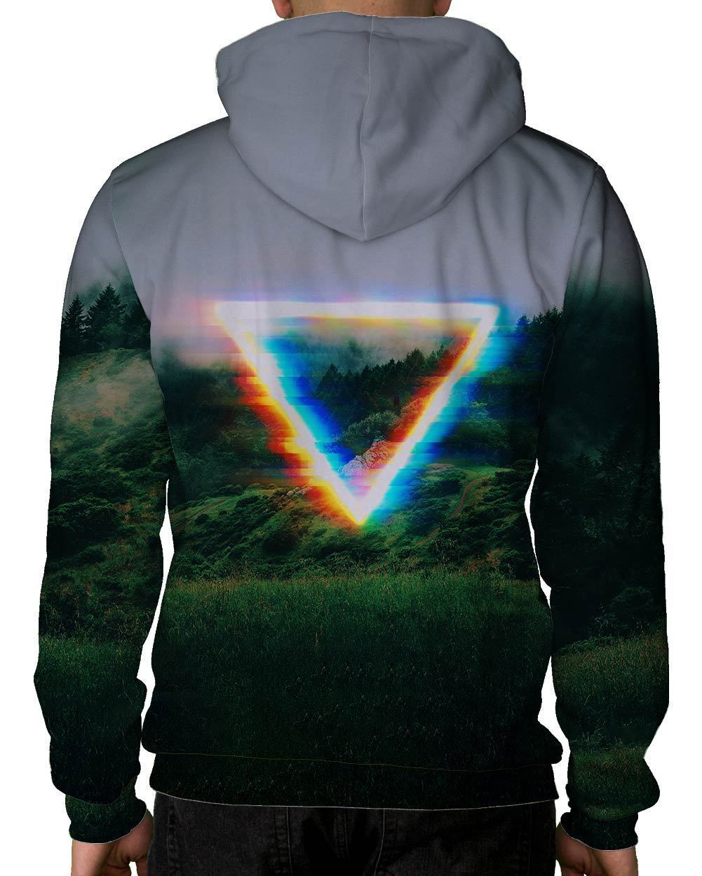 Analog Fields Pullover Hoodie-Male-Back